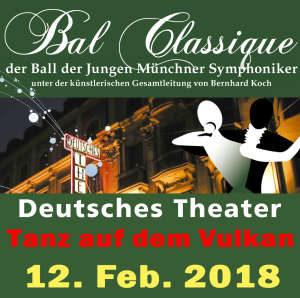 Bal Classique 2018: Tanz auf dem Vulkan
